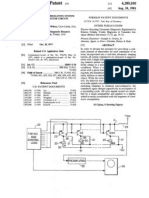 US Patent # 4285010, Ultrasonic Interrogating System and Exciter- Detector Circuit Therefor