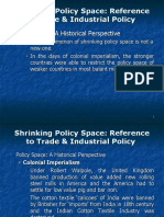 Shrinking Policy Space 21.04