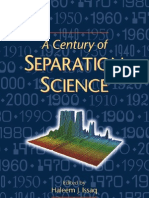 51153087 Issaq a Century of Separation Science Dekker 2002