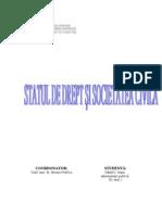 Statul de Drept Si Societatea Civila