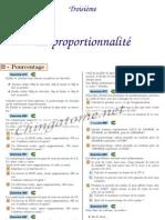 Chingatome-Troisième-La proportionnalité