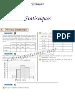 Chingatome-Troisième-Statistiques