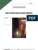 Iacs Ship Structure Access Manual