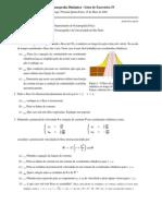 Lista 4 Dinamica de fluídos I