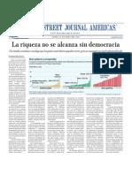 La Riqueza No Se Alcanza Sin Democracia