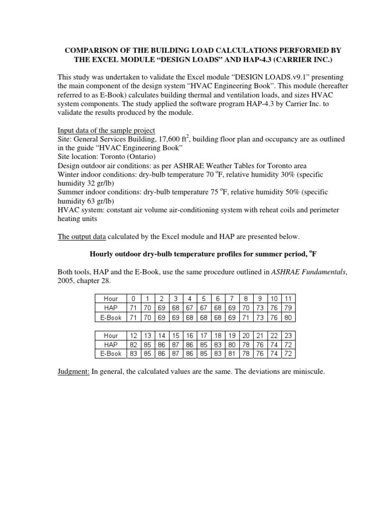 Hvac Load Calculation Software Free