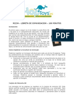 Rc234 Libreta de Comunicacion 100min
