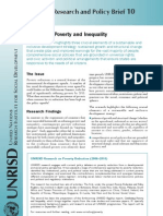 Combating Poverty & Inequality, UNRISD Research and Policy Brief 10 (2010)