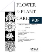 Flower and Plant Care Manual