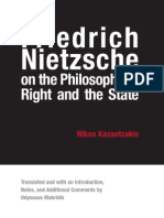 Kazantzakis - Friedrich Nietzsche on the Philosophy of Right and the State