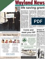 The Wayland News June 2011