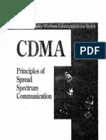 Cdma-principles of Spread Spectrum Communication