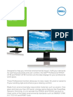 P2411H & P2011H Monitors Brochure