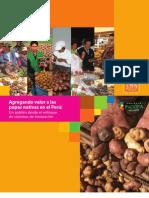 Agregando valor a las papas nativas en el Perú