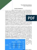 c7 Epidemiología Pruebas Diagnósticas