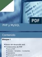 Curso Php y Mysql