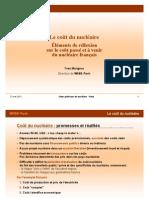 Cout Du Nucleaire Y Marignac