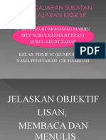 objektif kemahiran asas 3M