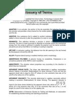 Polymer Glossary