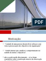 Tema 8 - Motivação