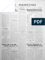 The Merciad, November 1933