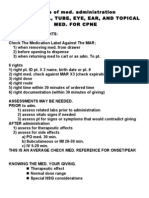 Basics of Med