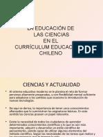 LA EDUCACIÓN DE LAS CIENCIAS