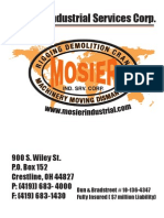 Mosier Industrial Services Corp