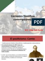 Unidad 3 Corrientes filosóficas contemporáneas todo desde comte