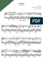 Chopin Nocturne 19 Mi Op72n1