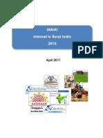 Internet Rural India 2010 IMAI IMRB Apr 2011