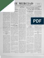 The Merciad, November 1941