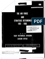 USAF and Strategic Deterrence