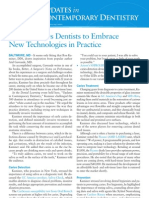 Speaker Urges Dentists to Embrace New Technologies in Practice