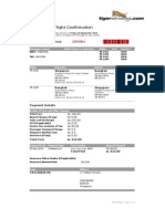 Tiger Airways Booking Confirmation - J39YBH