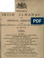 Thom's Directory of Dublin 1880