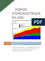 L'Energie Hydroelectrique en Asie