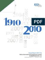Melco 2010AnnualReport