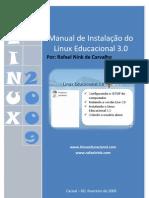 Manual Instalação Linux educacional  3.0