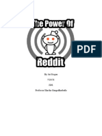 The Power of RedditVirtual