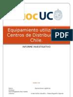 Equipamiento utilizado en Centros de Distribución en Chile1