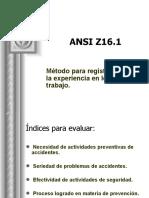 ANSI Z16.1