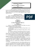 Regimento Interno TRE-SP
