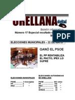 Orellana Digital 17 Especial Resultado Elecciones
