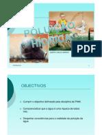 POLUIÇÃO HIDRICA