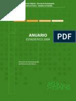 Anuario Estadístico 2009