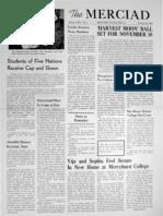 The Merciad, Oct. 18, 1950