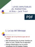 Veintidos Leyes Inmutables Del Marketing