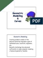 Geometric Model & Curve