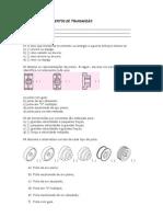 Pré-teste Elementos de Transmissão